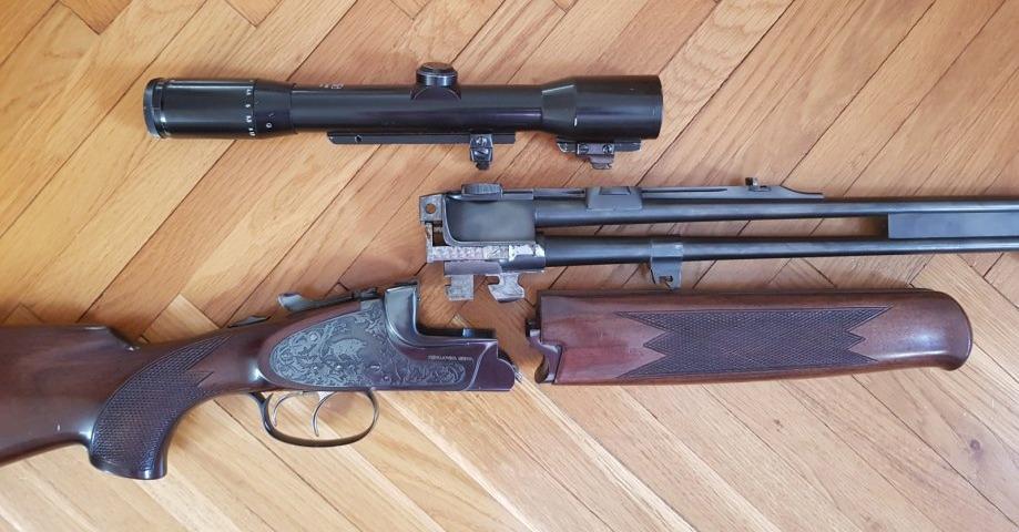 BRNO double rifle