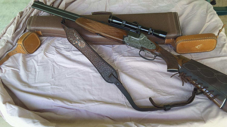 BRNO Super Express double rifle