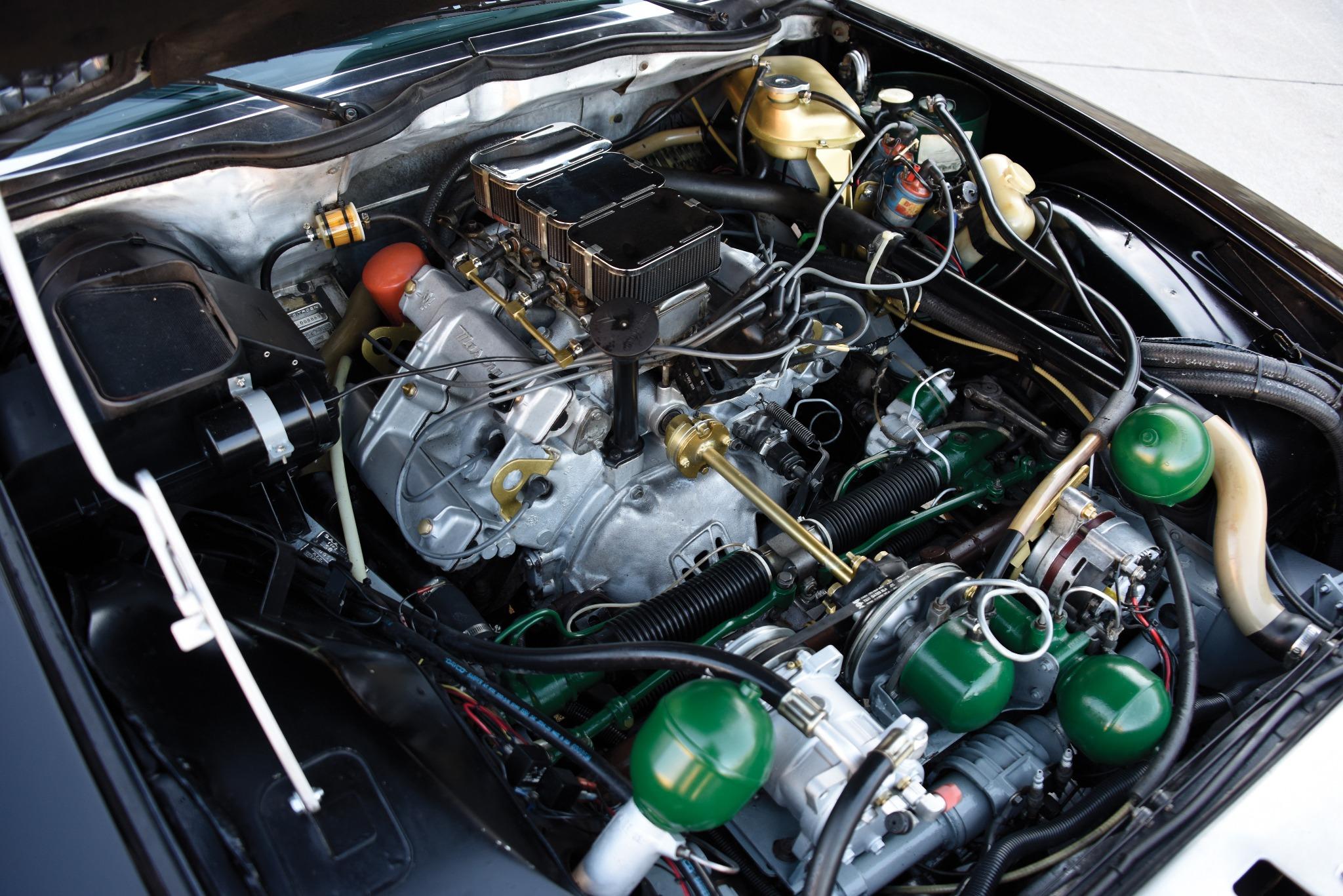 Citroën SM engine Maserati