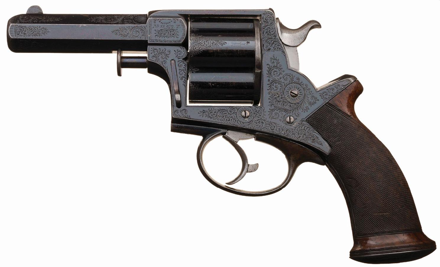 Tranter Manstopper revolver