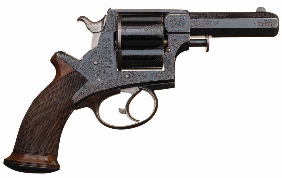Tranter double action revolver Manstopper