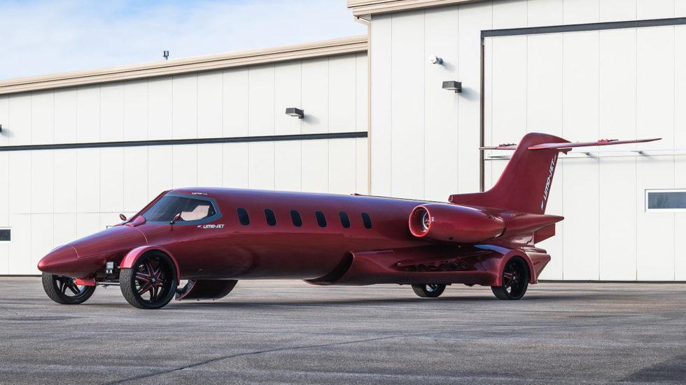 Limo-Jet Lear Jet Limousine