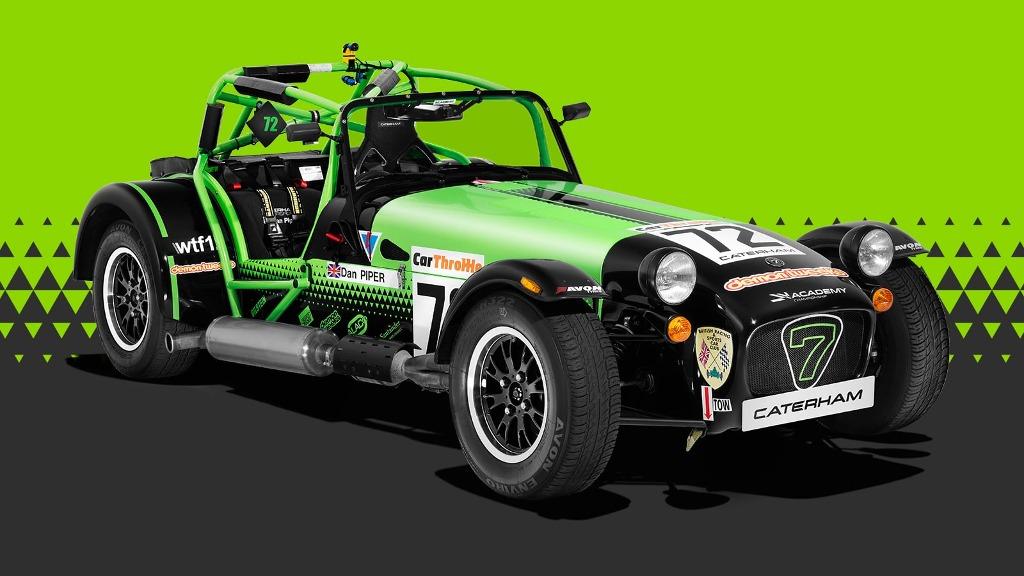 Caterham Seven Academy racing car