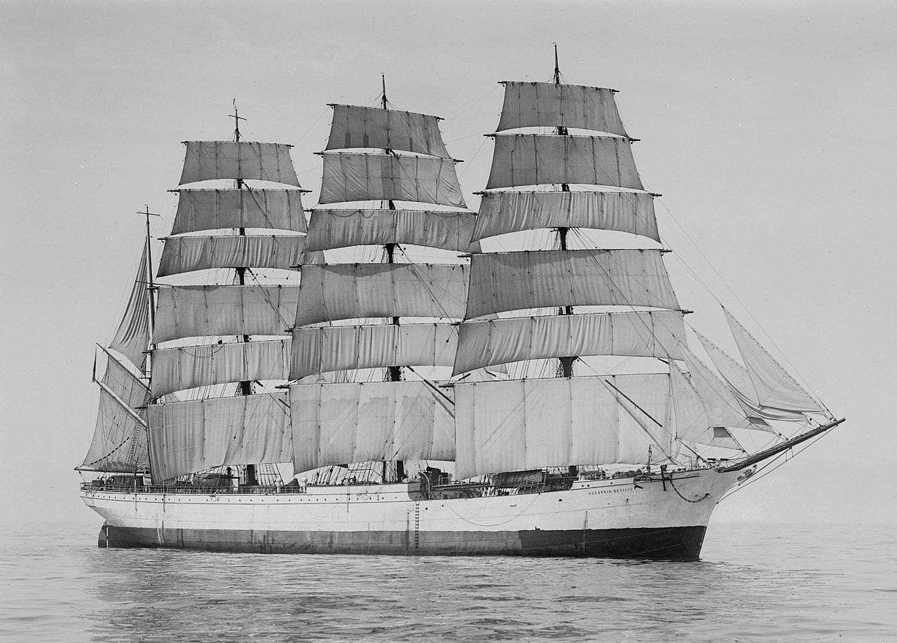 windjammer sailing ship