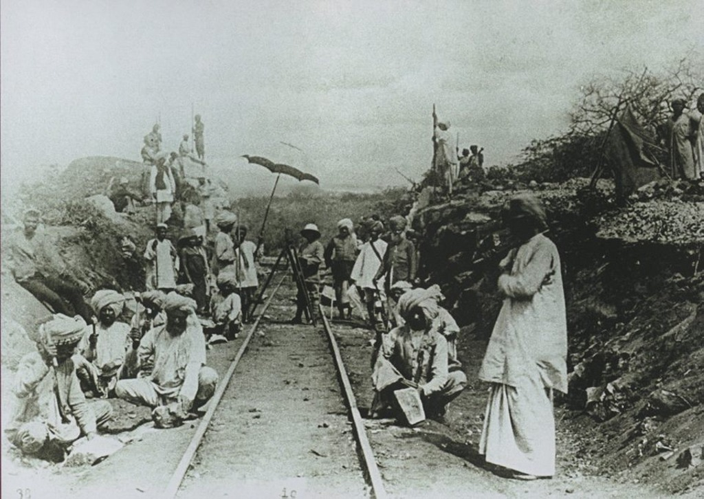 Uganda railway construction