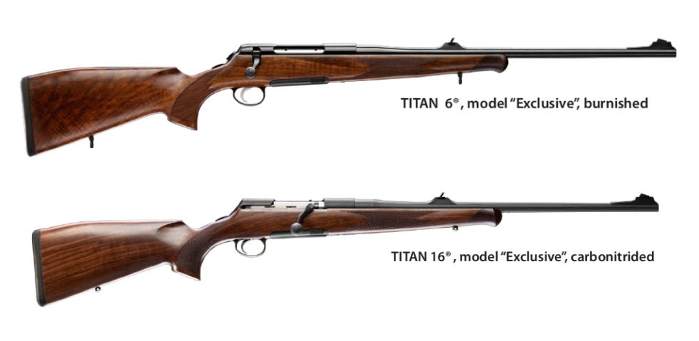 Rößler Titan sporting bolt action rifles