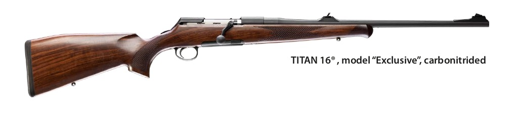 Rößler Titan sporting straight pull bolt action rifle