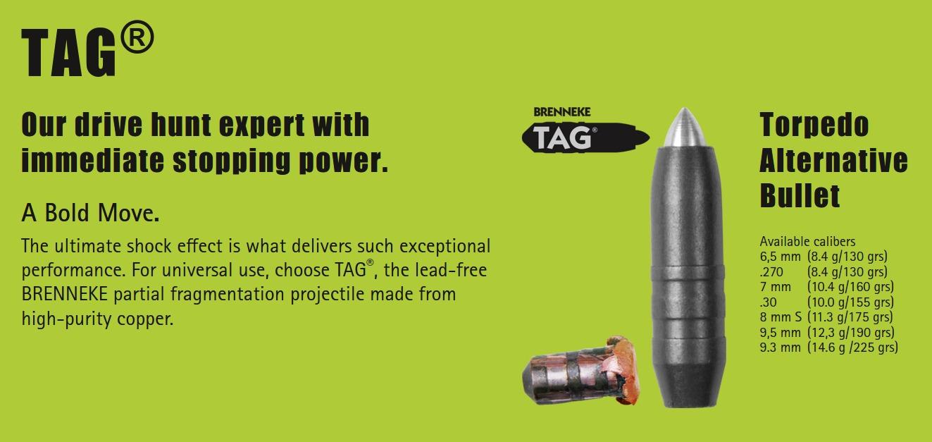 Brenneke TAG Torpedo Alternative Bullet
