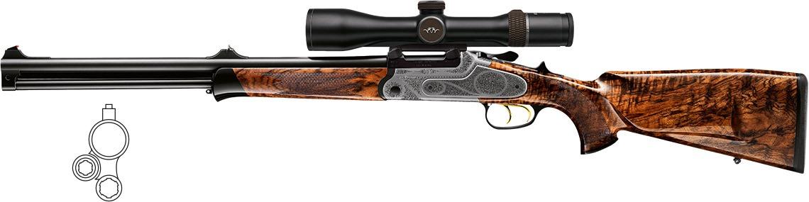 Blaser bockdrilling overunder sporting combination gun