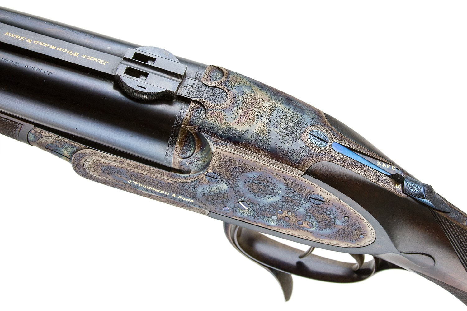 James Woodward double rifle